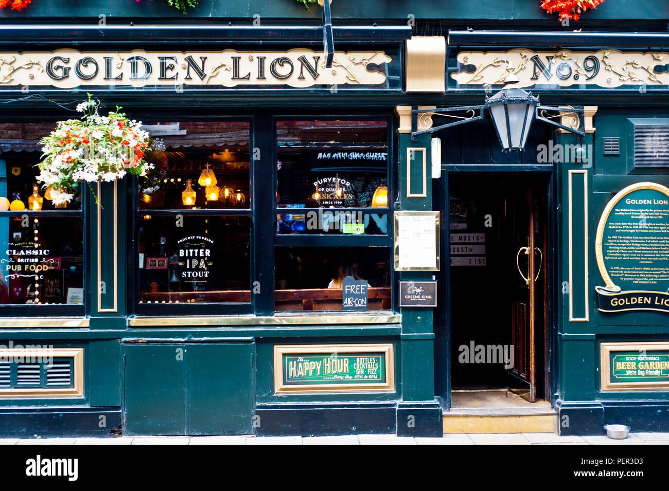 The Golden Lion Church Street York England