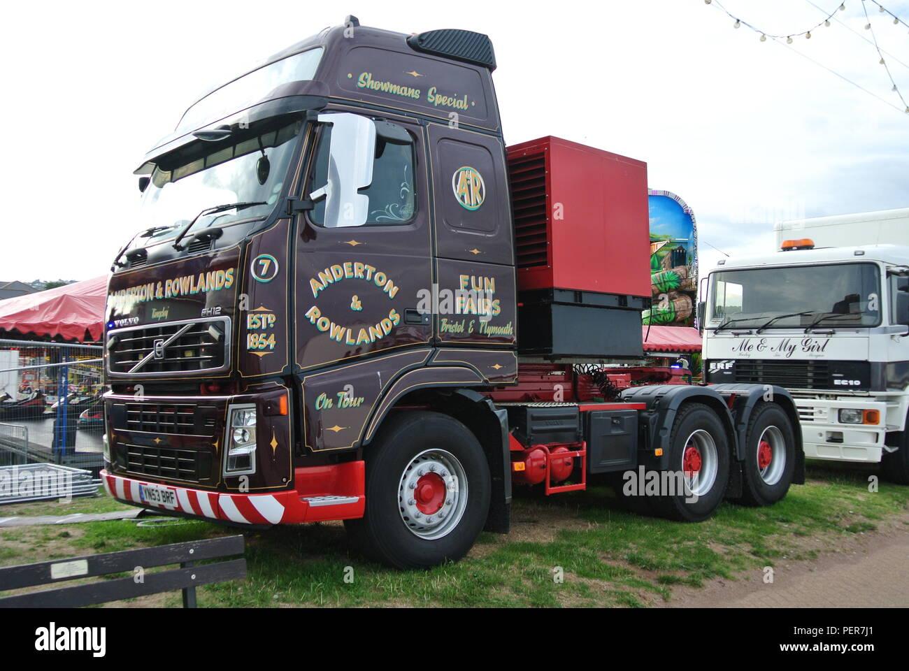 Fairground Truck Stock Photos Amp Fairground Truck Stock