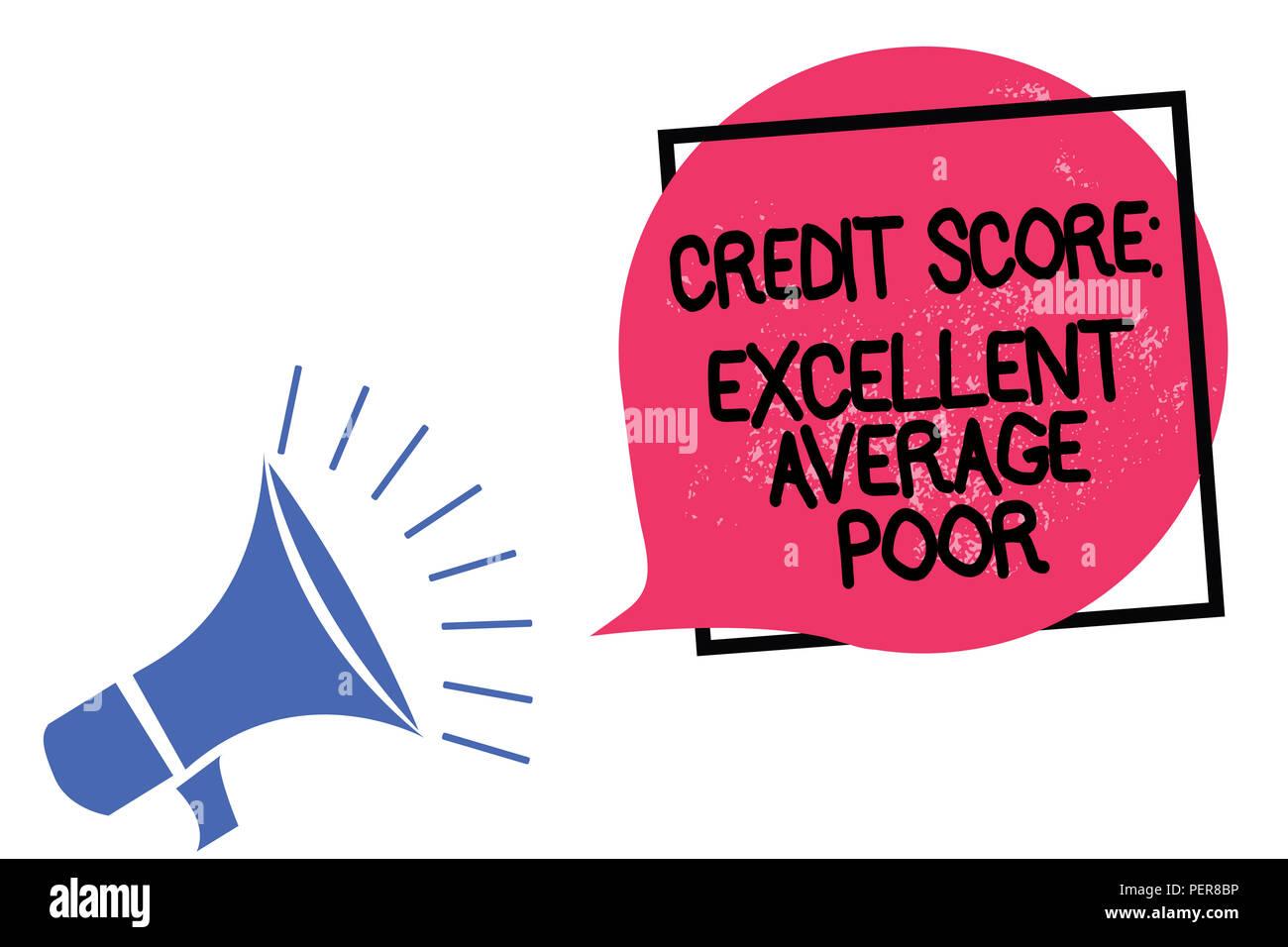 average credit rating
