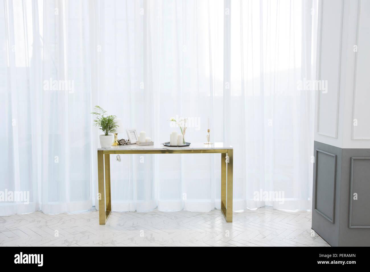 Modern Space Interiors Design Stock Photo Living Room Office Room Restaurant And Hair Salon 019 Stock Photo Alamy