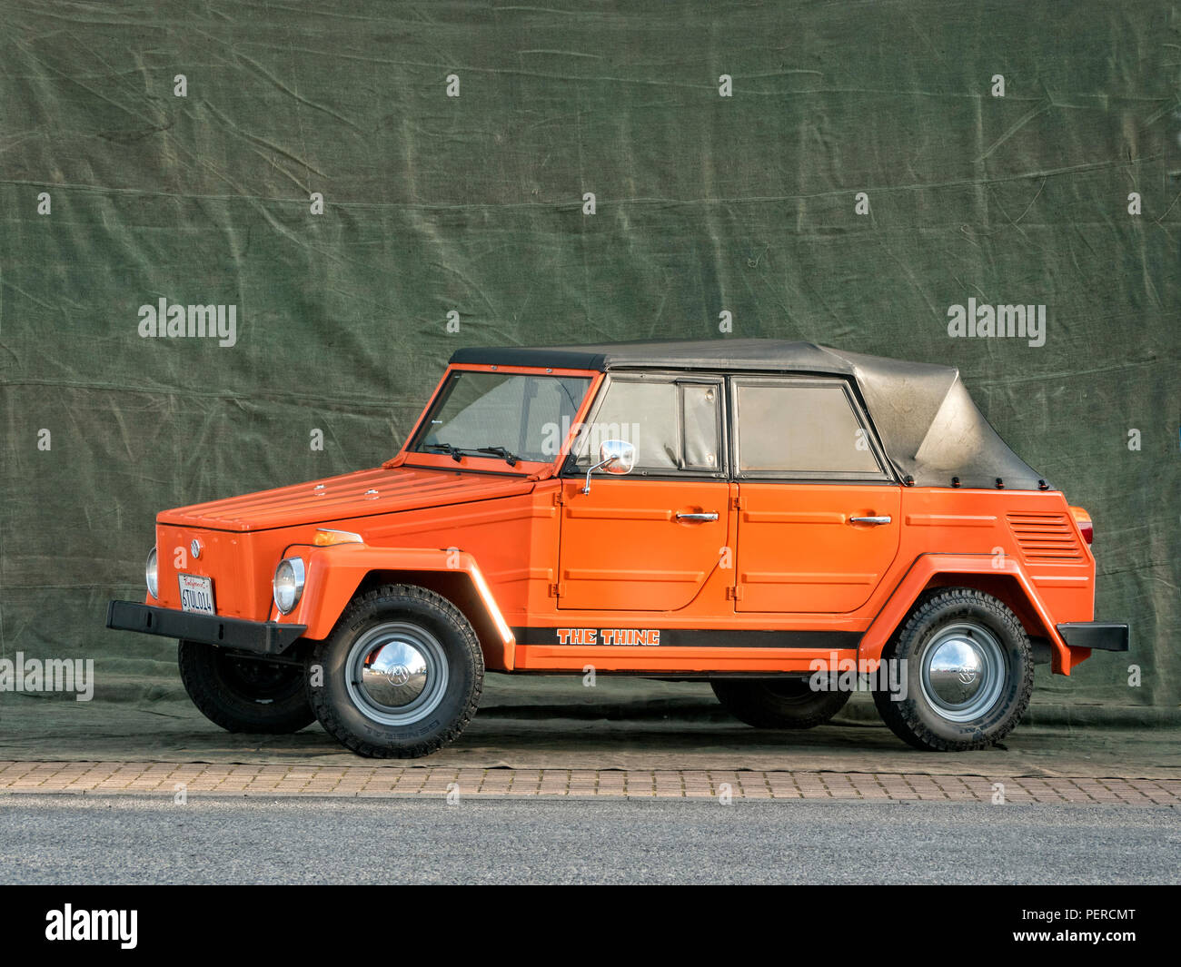 1973 VW The Thing Stock Photo