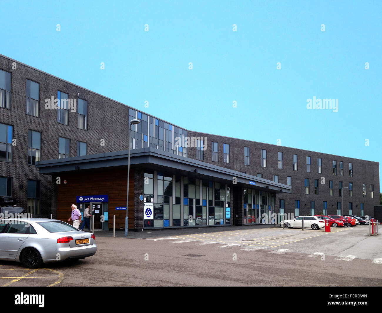 Exterior of the Rotherham Community Health Centre and Doctors Surgery, Rotherham South Yorkshire, England - Stock Image