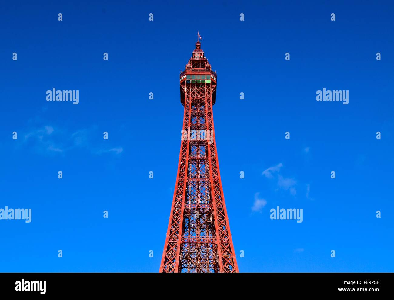 Blackpool Tower - Stock Image