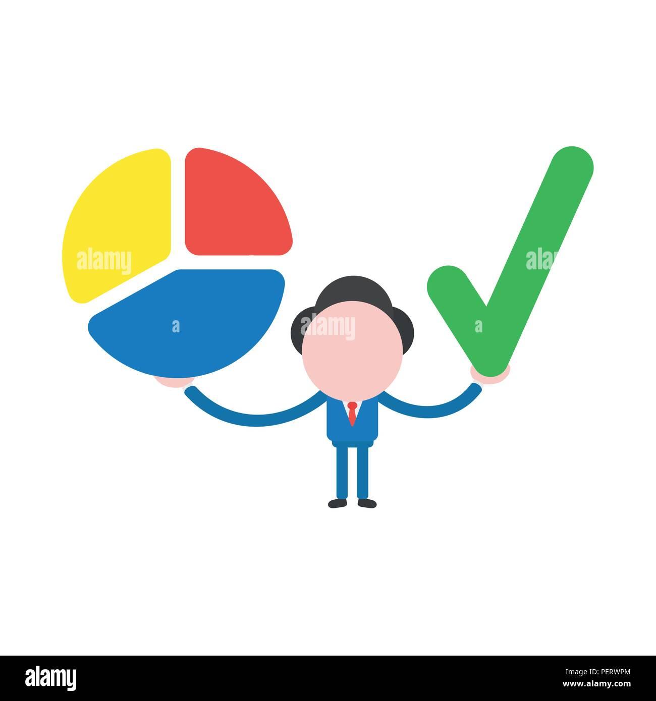 Pie Chart Vector Vectors Stock Photos Pie Chart Vector Vectors