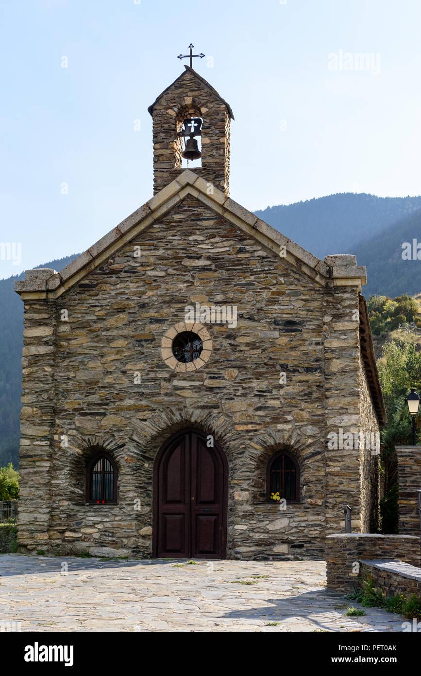 Coll de la Gallina, Sant Julia de Loria, Andorra Stock Photo