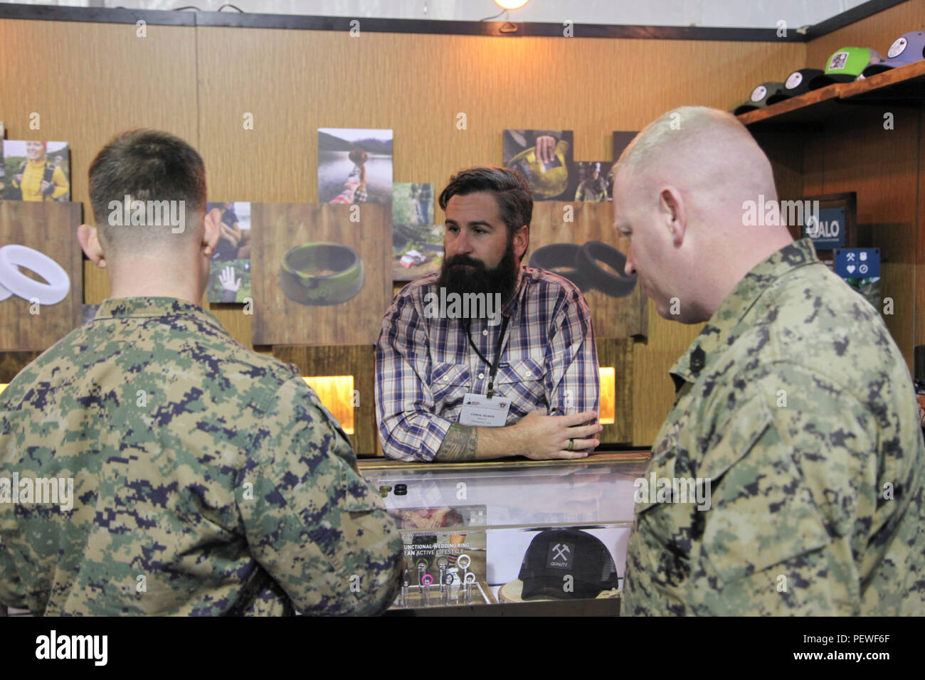 U S Marines Look At Silicone Wedding Rings From Chris Sears