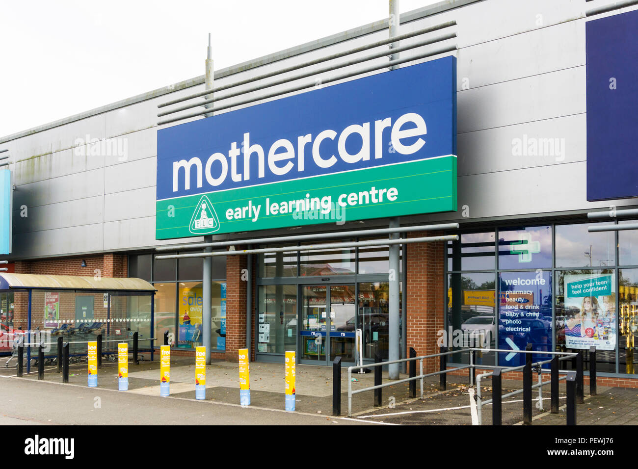 A branch of Mothercare containg an Early Learning Centre concession in the store. - Stock Image