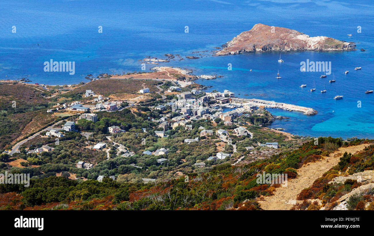 Corsica landscapes France Europe - Stock Image