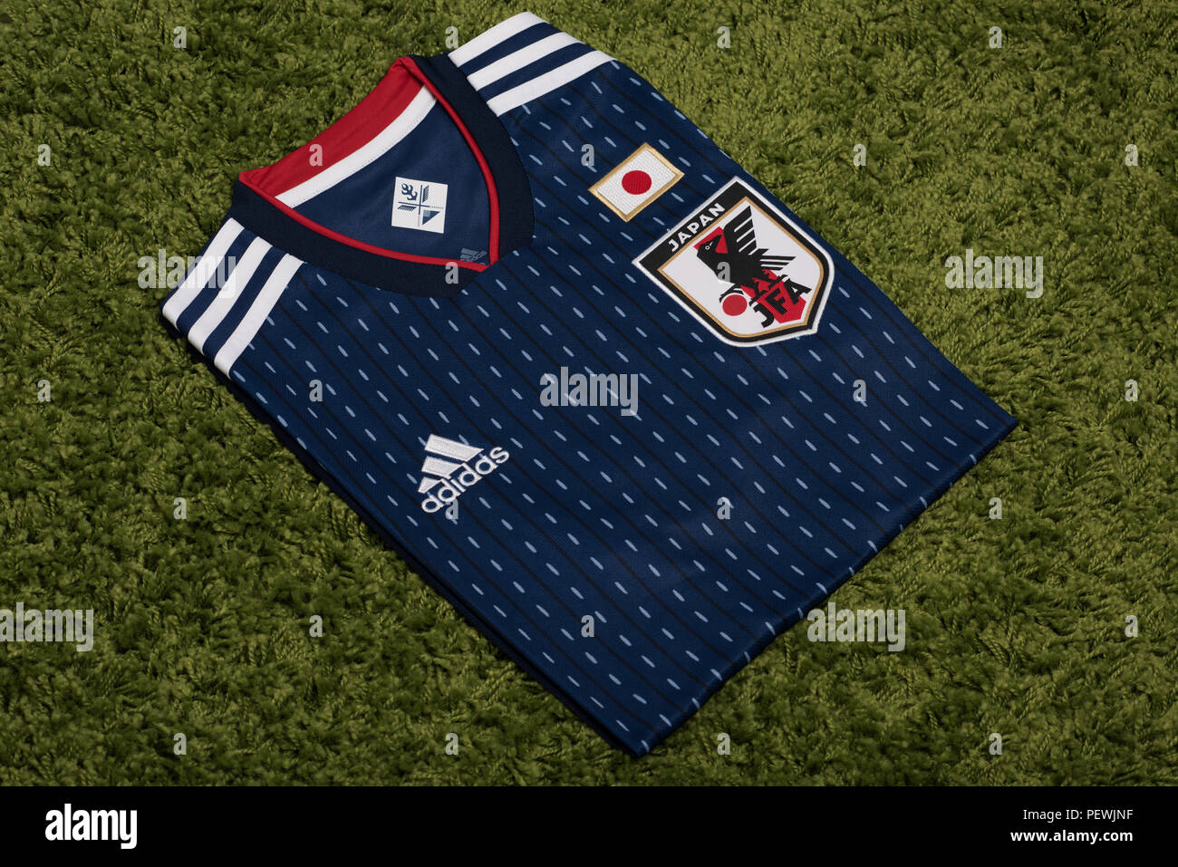 new arrival 81b86 5b846 Japanese National Football team shirt. FIFA World Cup 2018 ...