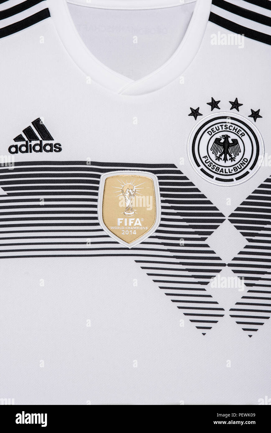 sports shoes 7a21f 80cce Germany National Football Team Jersey Stock Photos & Germany ...