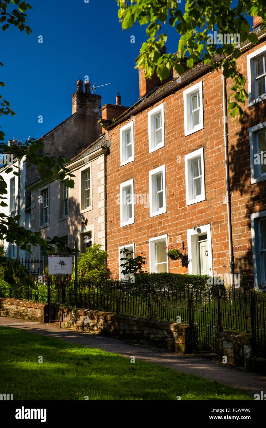 UK, Cumbria, Eden Valley, Appleby, 48 Boroughgate, bed and breakfast guest house Stock Photo
