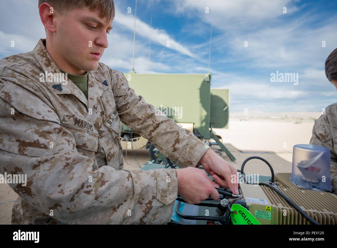 Marine Unmanned Aerial Vehicle Squadron One Stock Photos