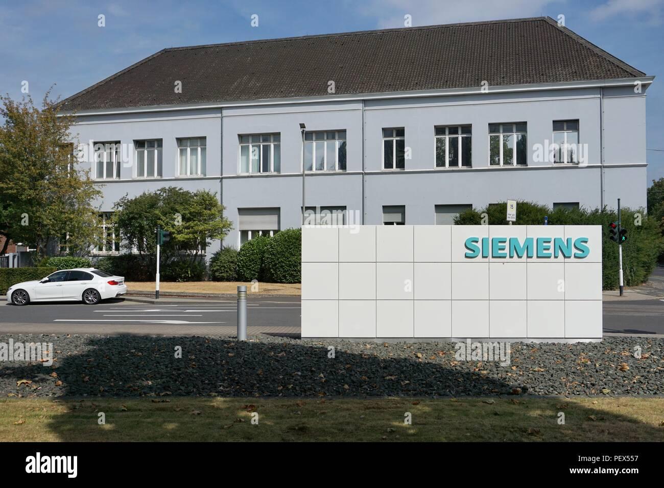 siemens train company germany - Stock Image
