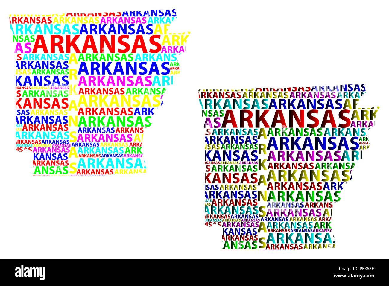 Sketch Arkansas (United States of America, The Natural State, The ...