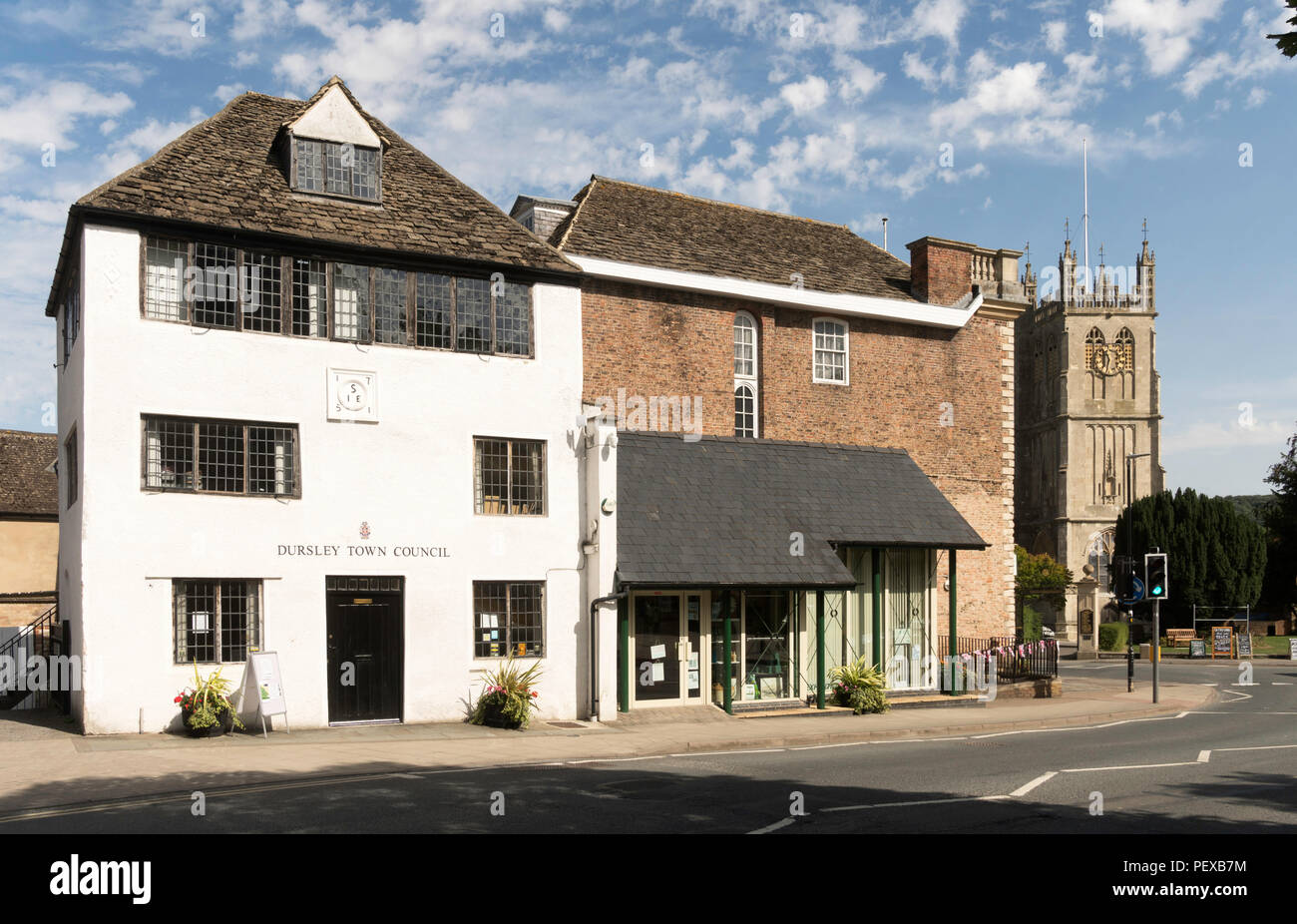 Jacob's House, Dursley town council building, Gloucestershire, England, UK - Stock Image