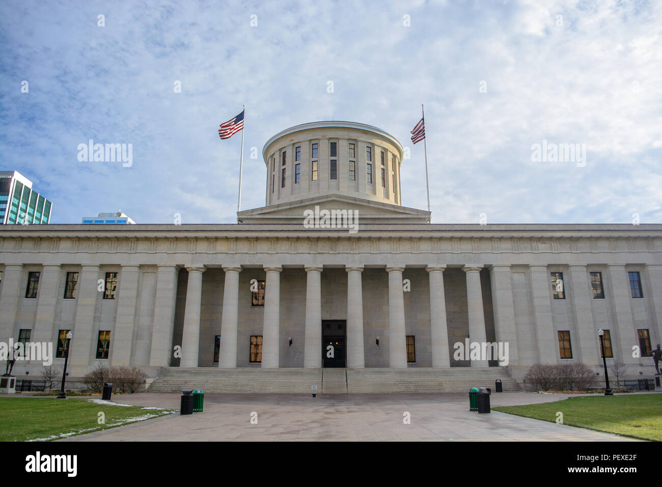 Ohio Statehouse State Capitol Building During the Day - Stock Image
