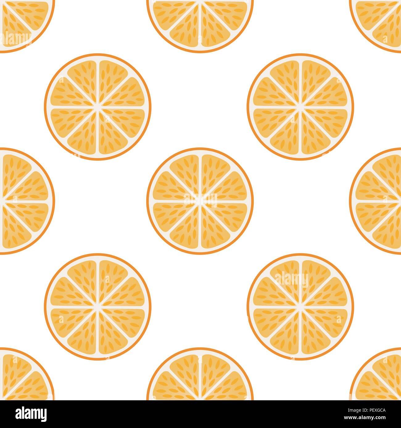 Fresh orange fruit slices on white-Orange slice fruit