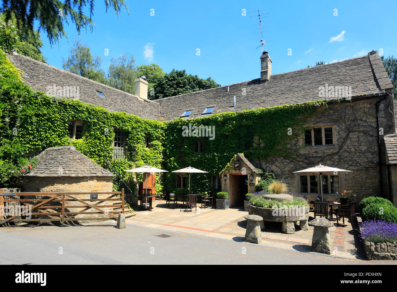The Slaughters Country Inn Hotel, Lower Slaughter village