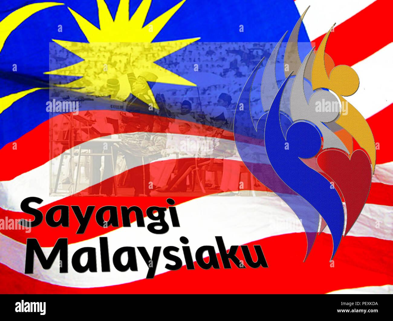 hari merdeka malaysia stock photo alamy https www alamy com hari merdeka malaysia image215715622 html