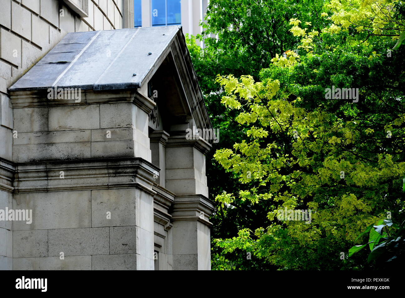 Manchester central Library - Stock Image