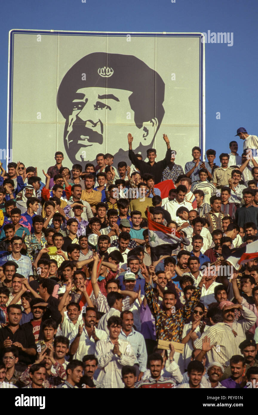 Irakier upprors over saddamfoto