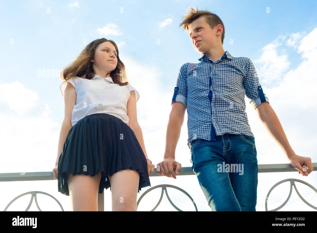 Teenboys and girls
