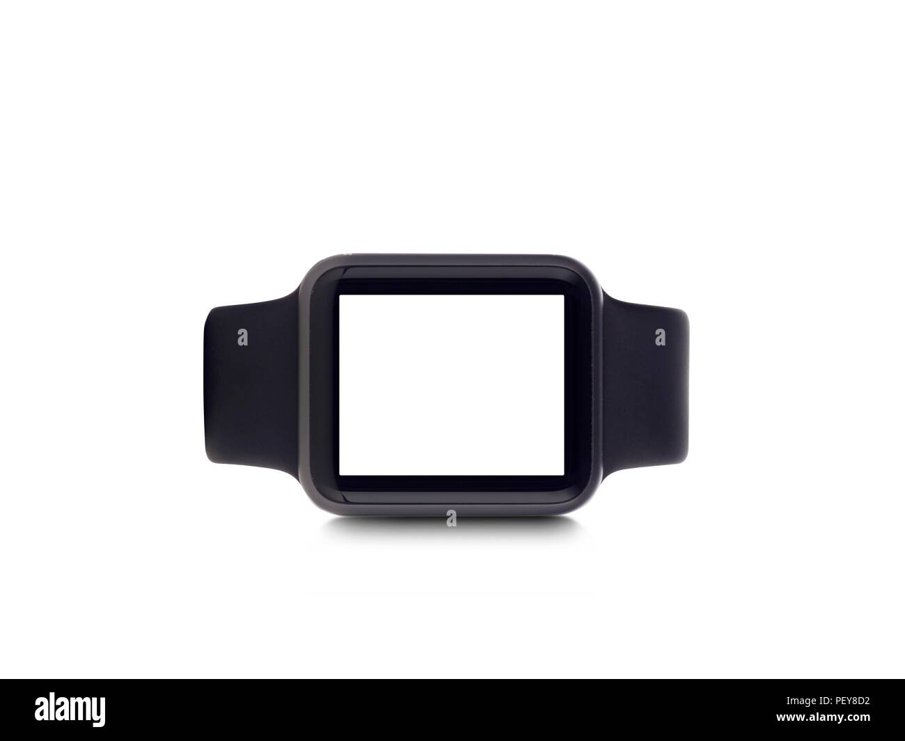 Smart watch, studio shot. - Stock Image