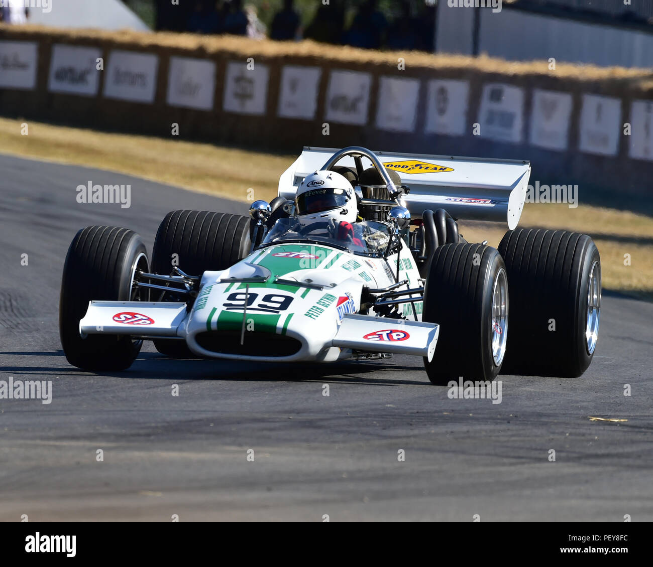 a05878ba5d8 Derek Bell, Mark Longmore, McLaren-Chevrolet M10B, Americana, Festival of  Speed - The Silver Jubilee, Goodwood Festival of Speed, 2018, Motorsports,