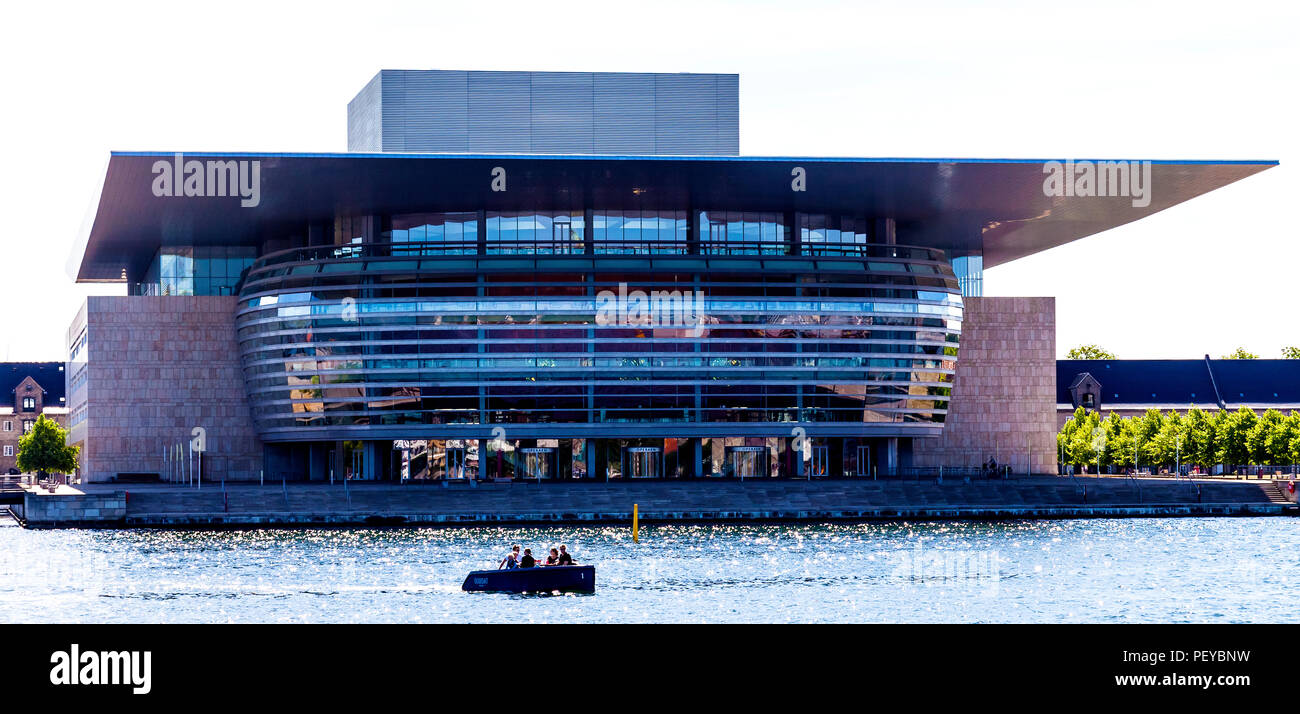 The modern Copenhagen Opera House is the national opera house of