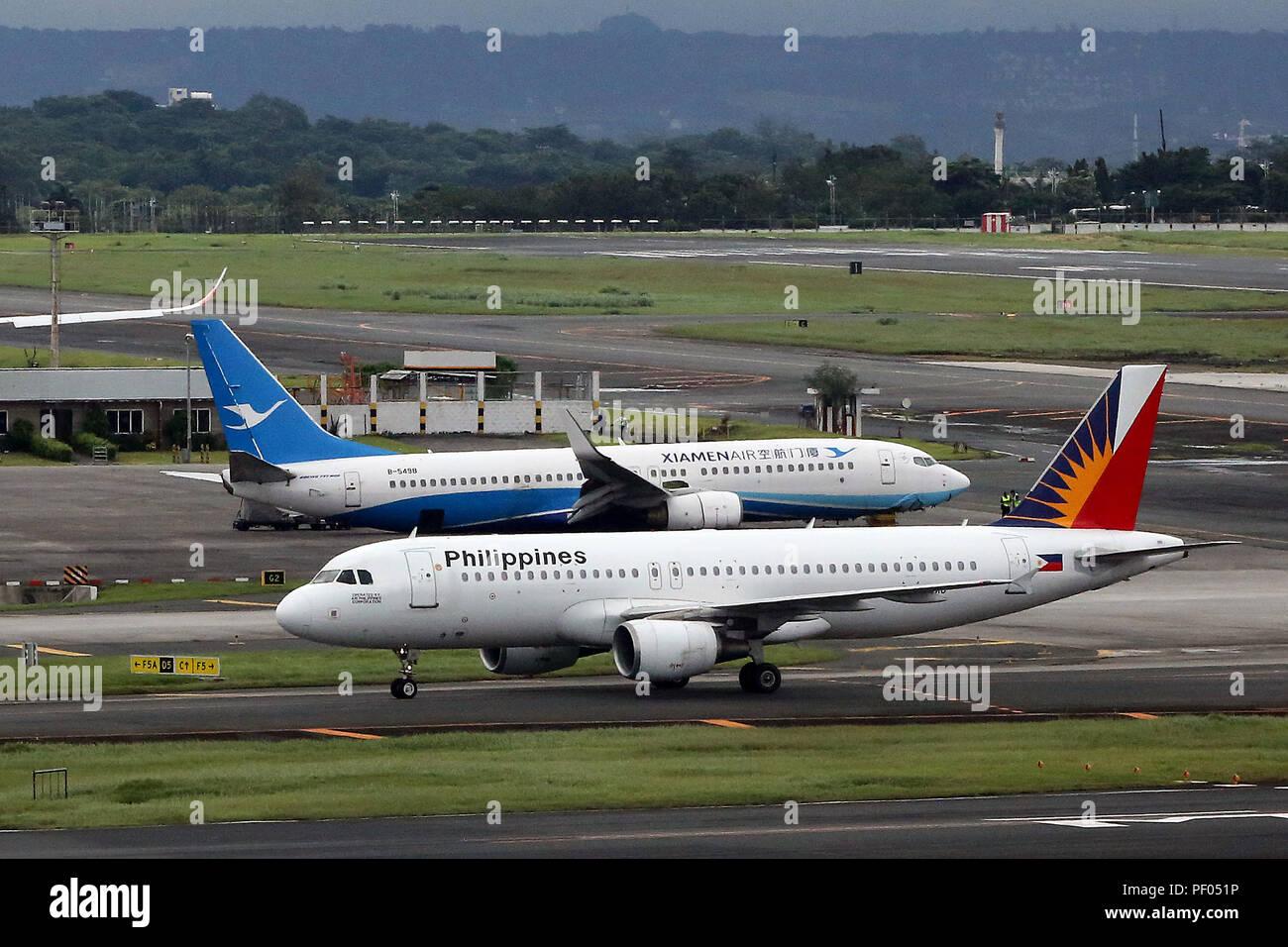 Manila Ninoy Aquino International Airport Stock Photos