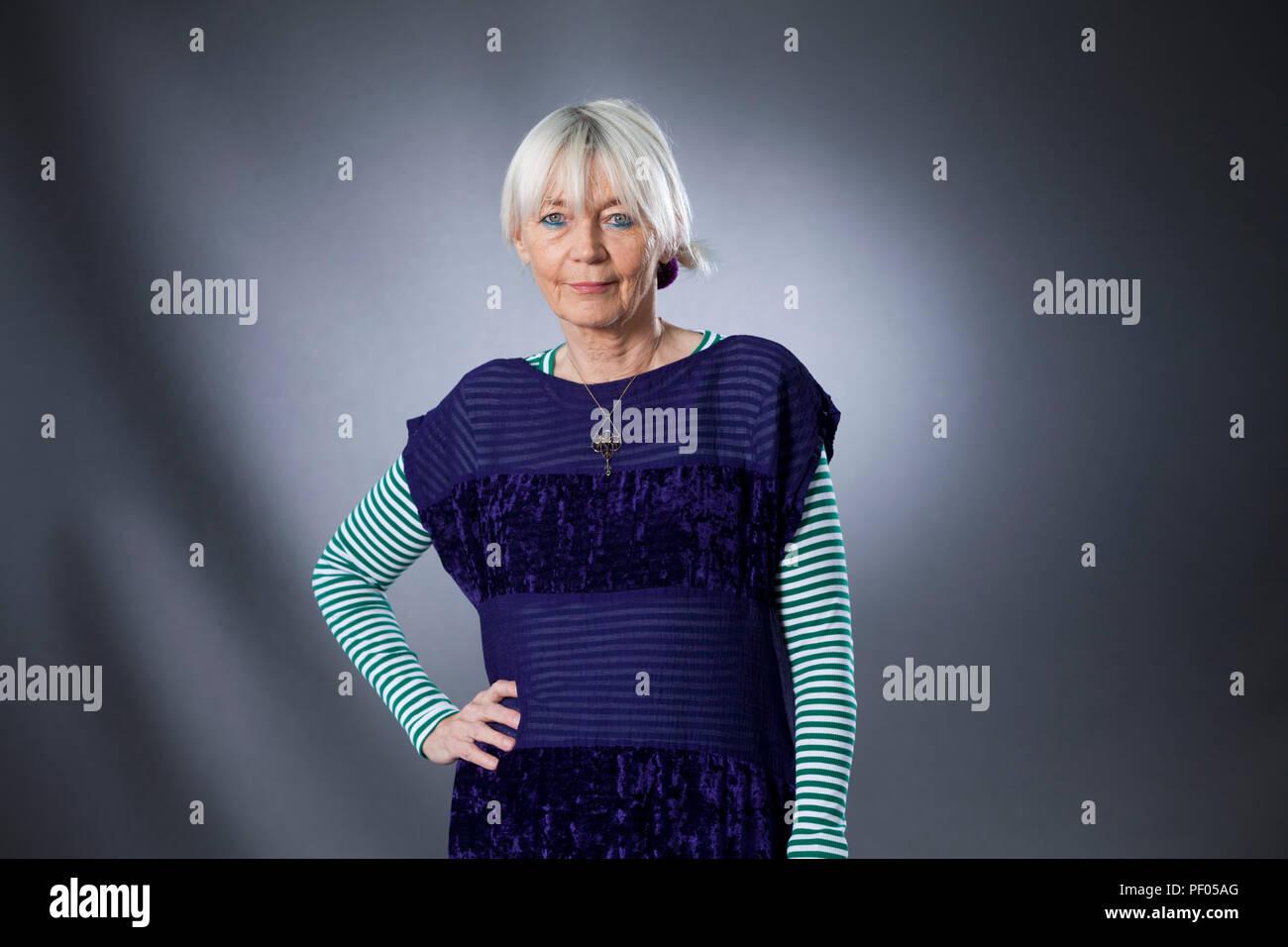Edinburgh, UK  18th August, 2018  Diane Atkinson is a British