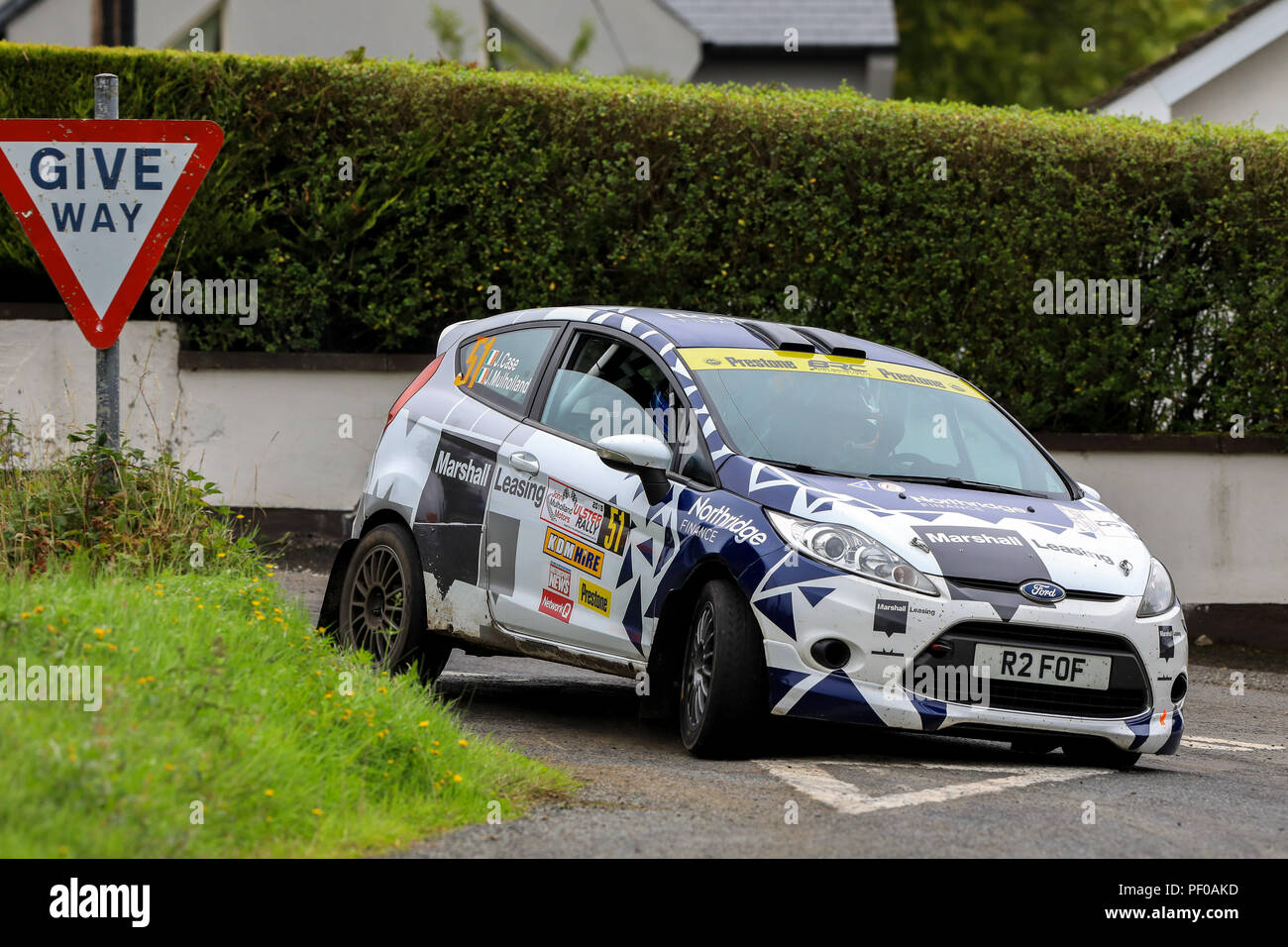 Rally Motor Credit >> County Antrim Northern Ireland 18th Aug 2018 John Mulholland
