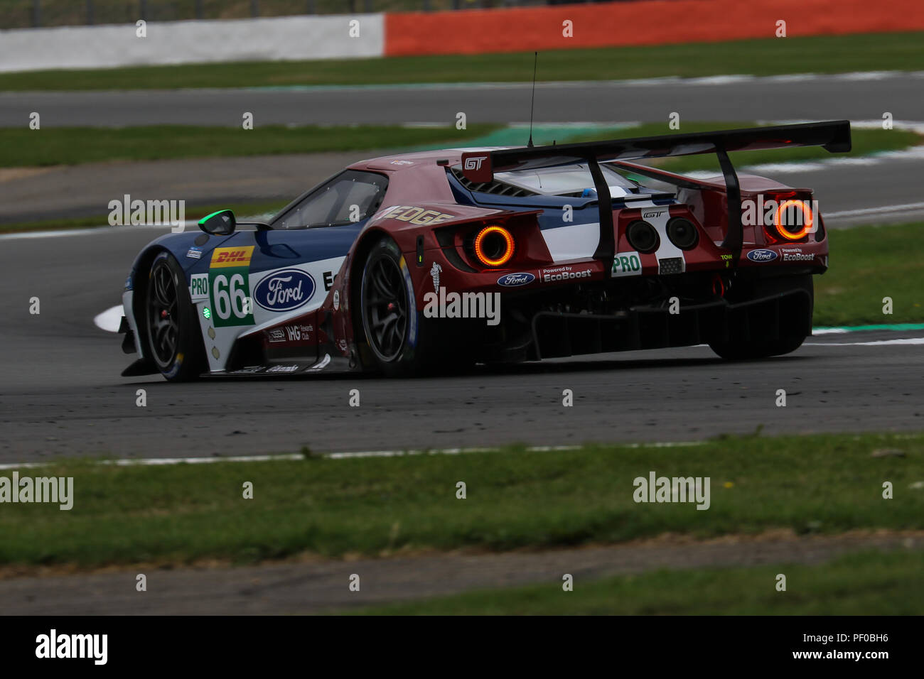The  Ford Chip Ganassi Team Uk Ford Gt Of Stefan Mucke And Olivier Pla During Qualifying For The Fia World Endurance Championship  Hours Of Silverstone