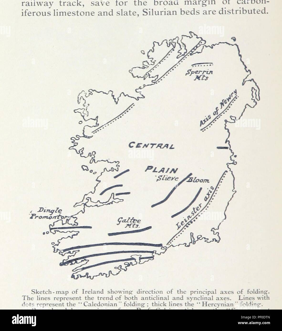 Plain Map Of Ireland.Image From Page 230 Of The Sunny Side Of Ireland How To See It By