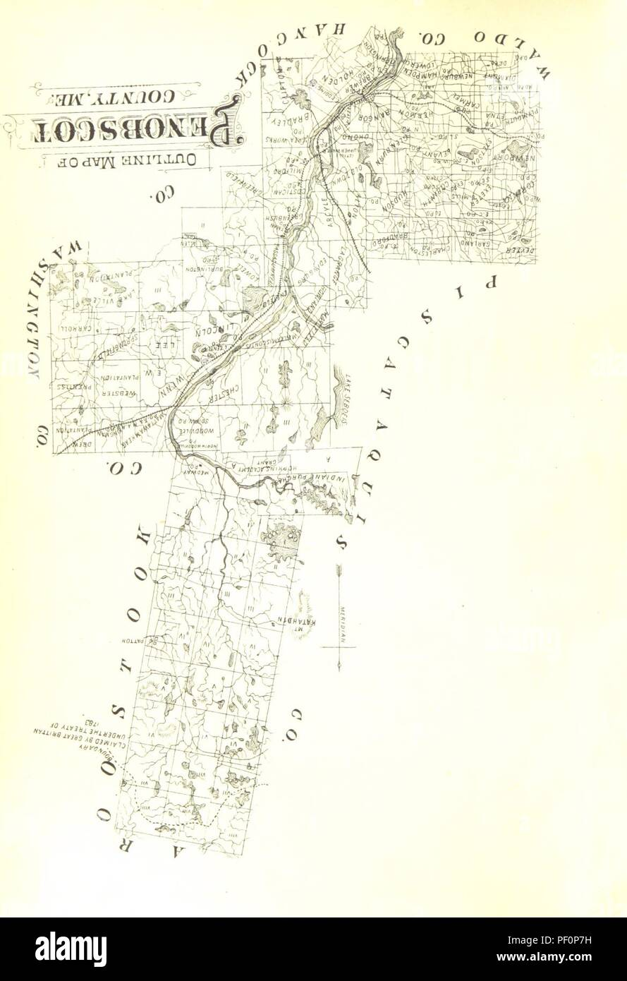 Image from page 10 of 'History of Penobscot County, with