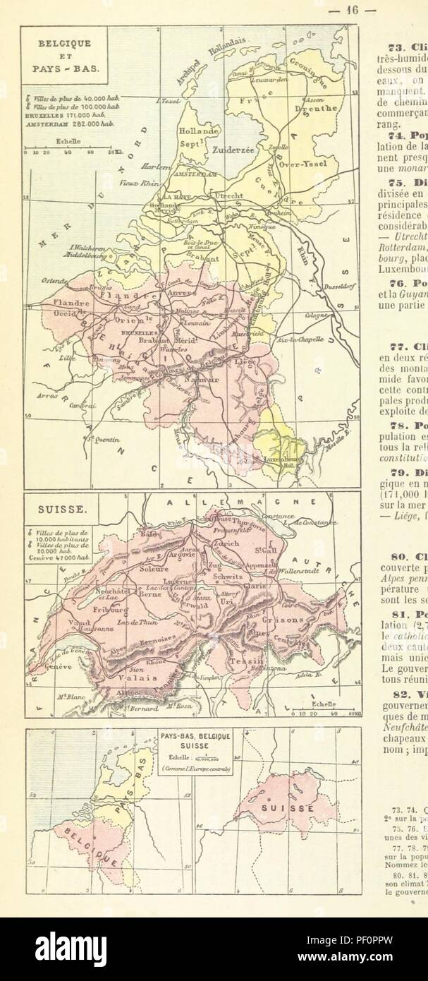 Carte Belgique Enseignement.Image From Page 20 Of L Enseignement Pratique De La Geographie