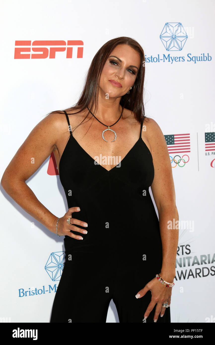 4th Annual Sports Humanitarian Awards on The Novo on July 17, 2018 in Los Angeles, CA  Featuring: Stephanie McMahon Where: Los Angeles, California, United States When: 18 Jul 2018 Credit: Nicky Nelson/WENN.com - Stock Image