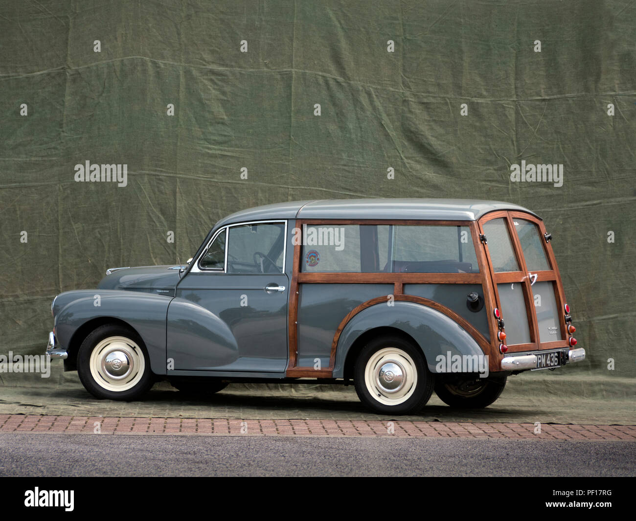 Morris Minor Traveller 1960's - Stock Image
