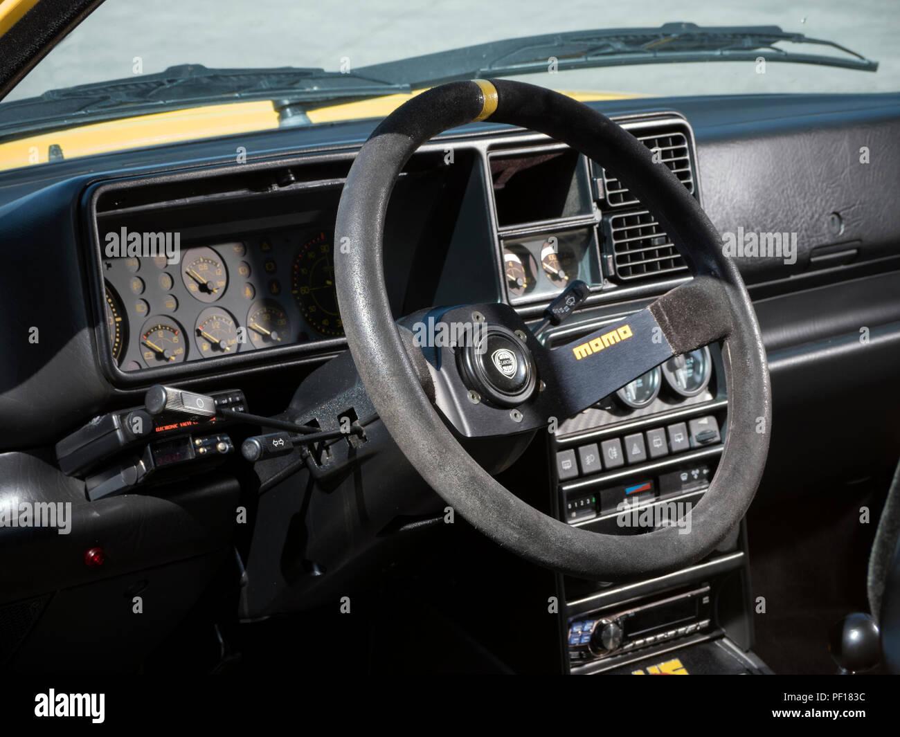 1995 Lancia Delta Integrale Evo II - Stock Image