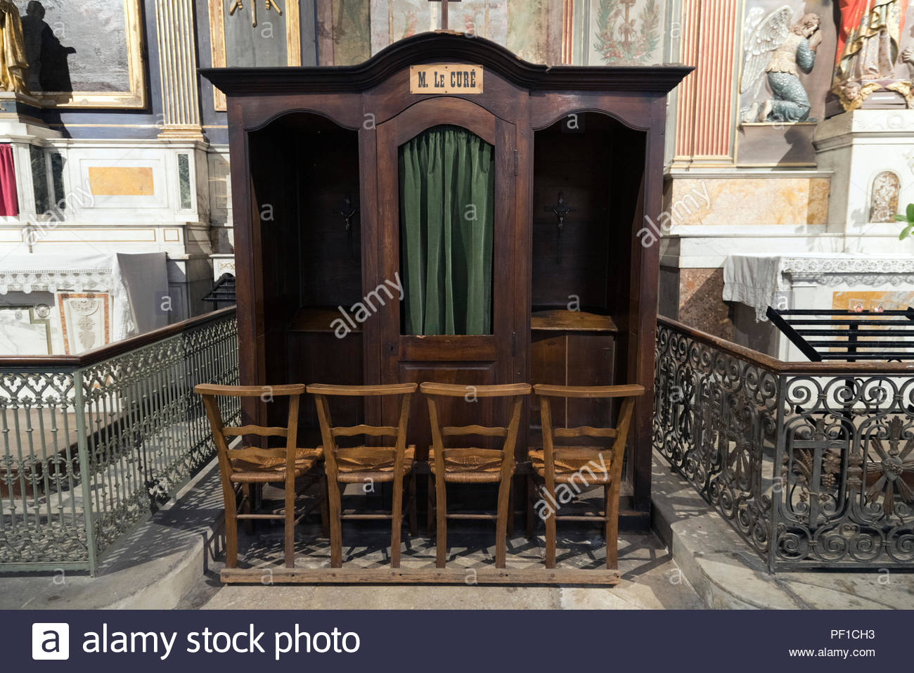 Confession Room Stock Photos Confession Room Stock Images Alamy