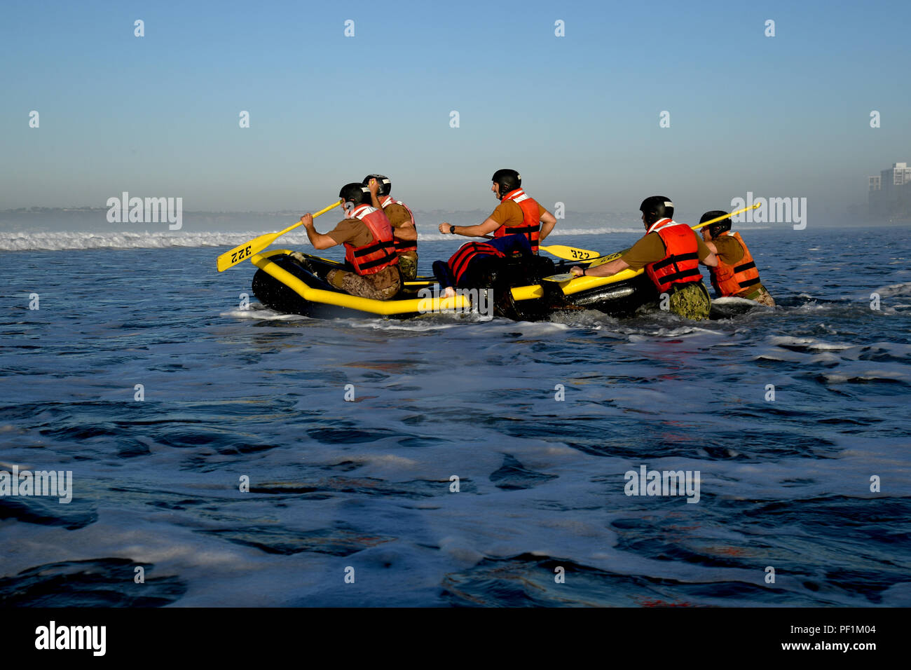 U.S Navy SEAL Team Raft Paddles