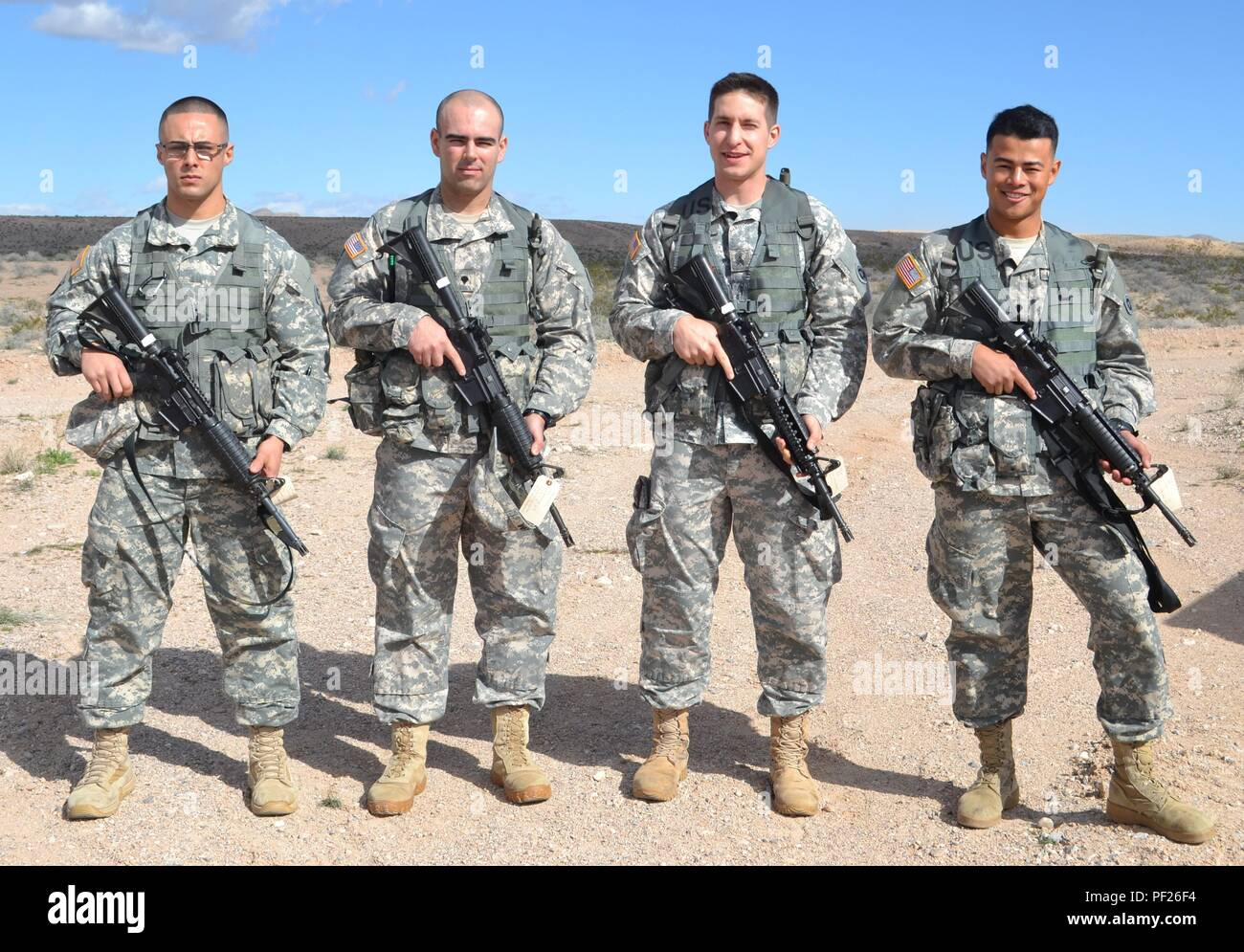 Sgt Edgar Macias And Spc Fakhimi 227th Transportation Company Sgt Scott Hart 483rd Transportation Battalion And Spc Kenny Ochoa 481st Tc Competed In The 650th Regional Support Group Best Warrior Competition At