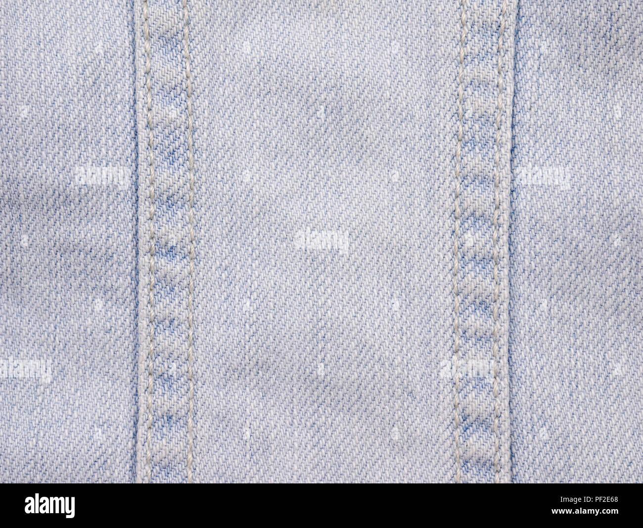 texture background light blue jean fabric cloth stock photo