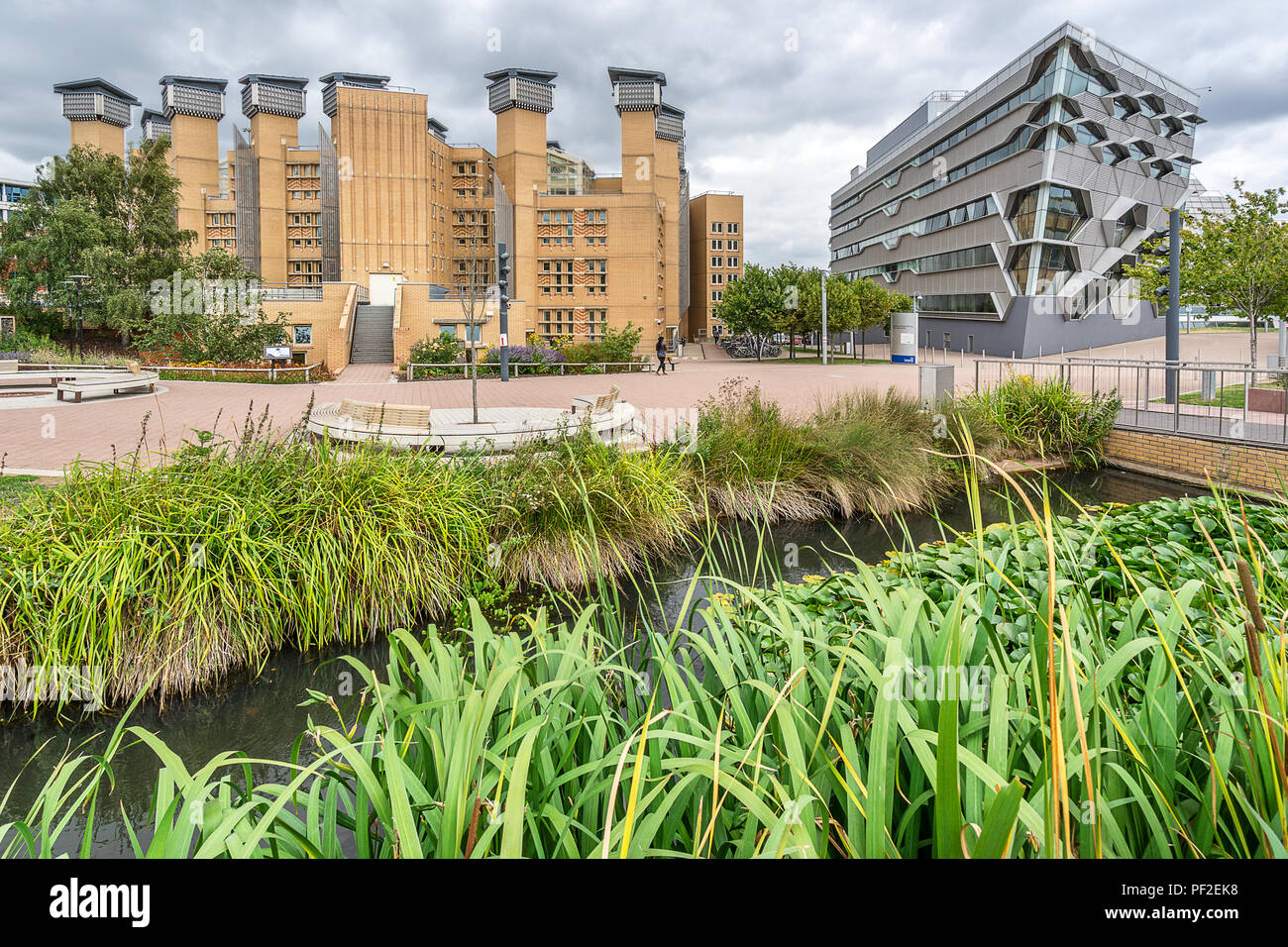 Coventry University Lanchester Library and the Faculty of Engineering and Computing - Stock Image