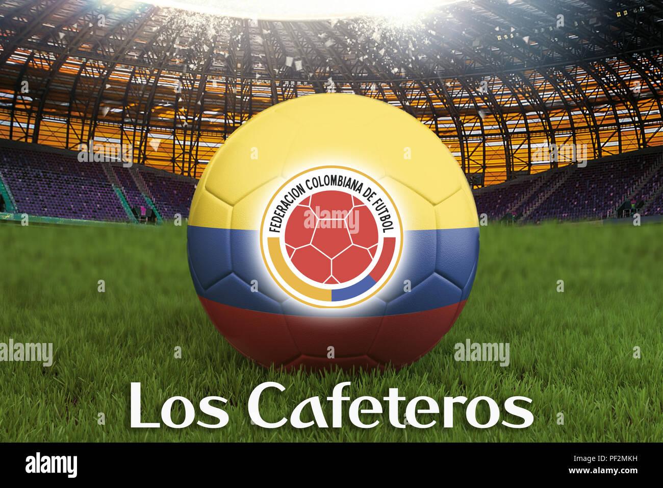 Colombia Flag Soccer Ball Futbol Football Baby Bib