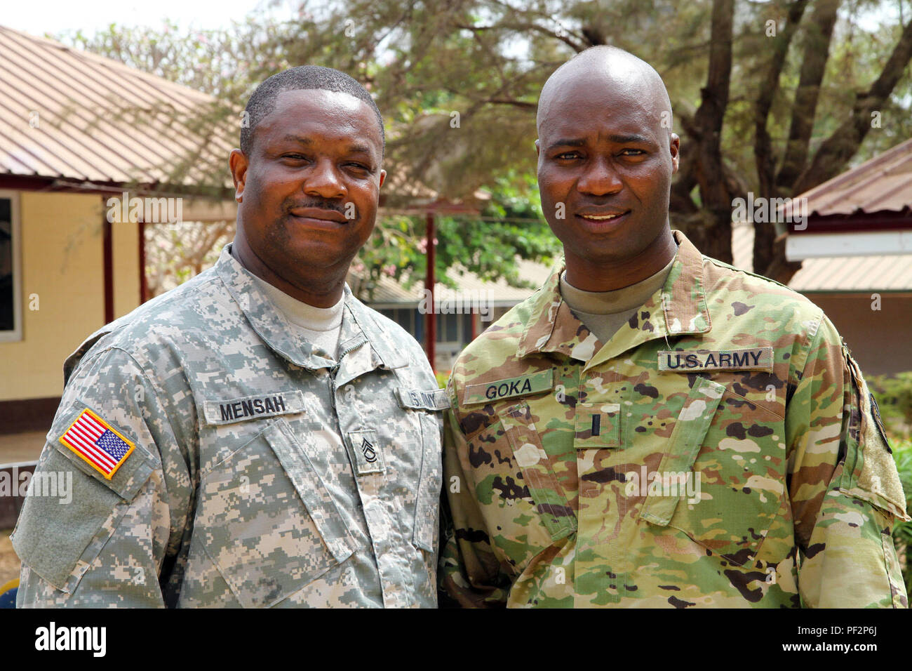 Active Guard Reserve >> Active Guard Reserve Sgt 1st Class Solomon Mensah A Member Of