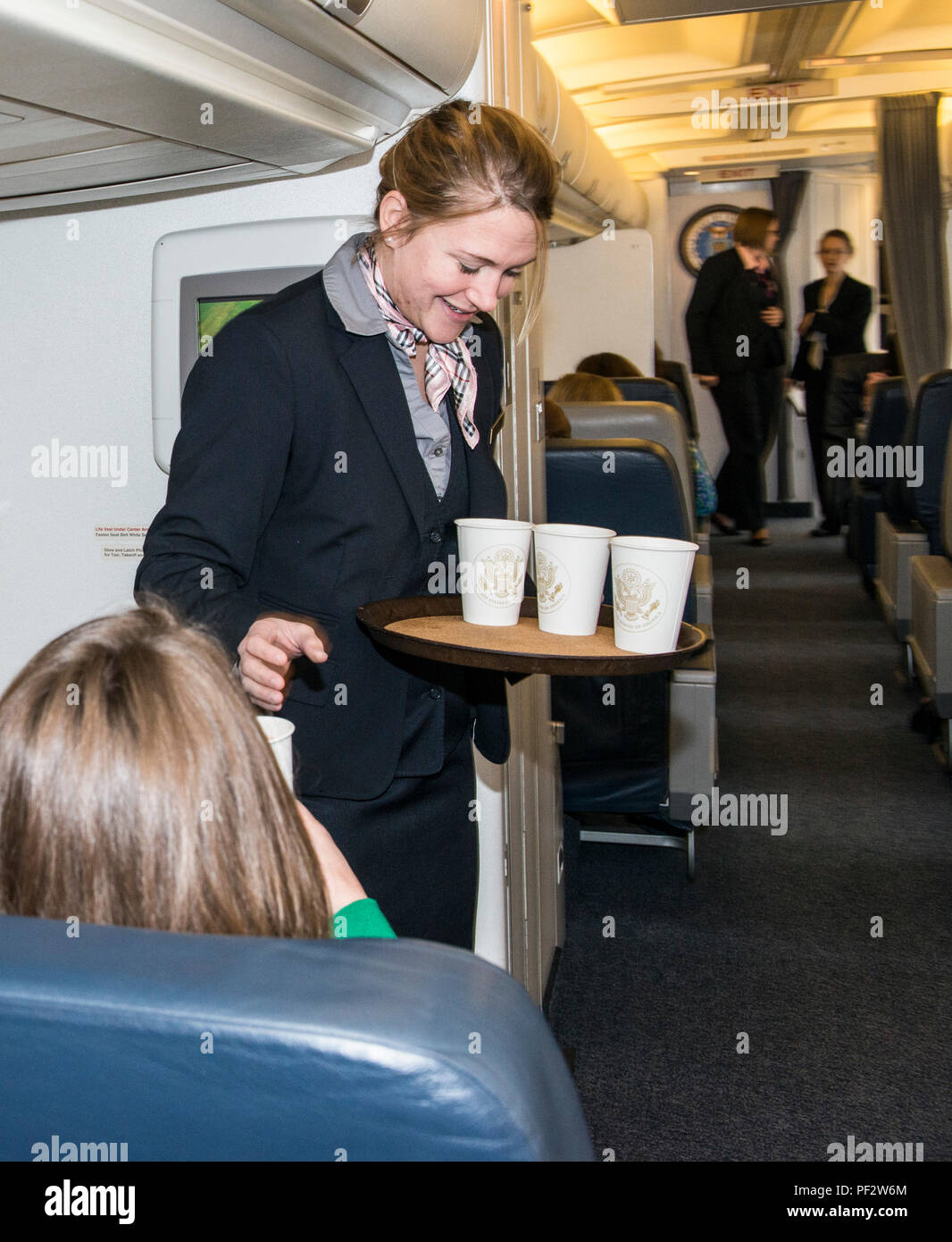 chief flight attendant air force one