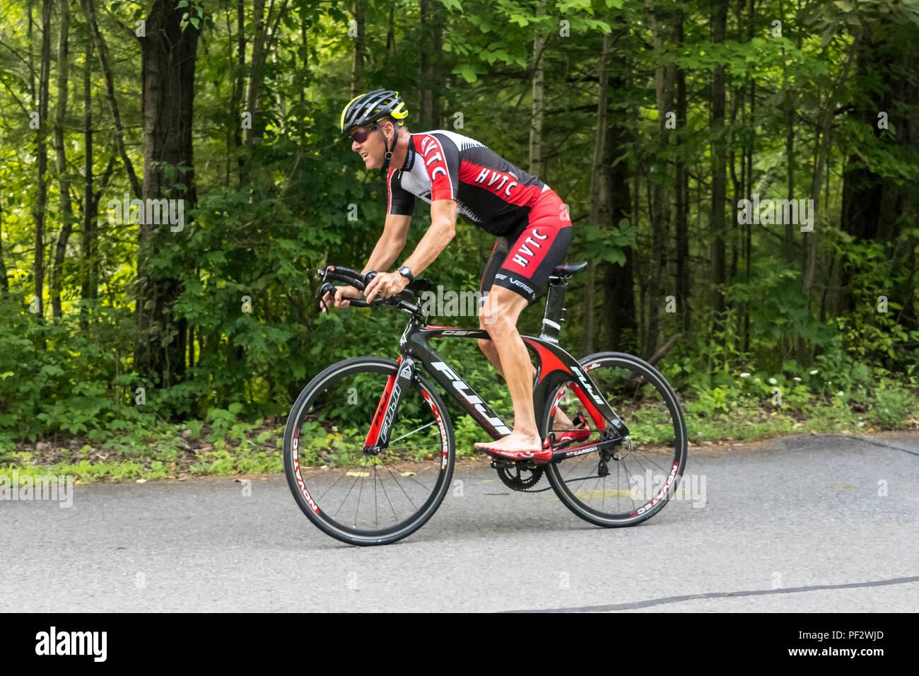 HVTC Summer Tri Series Race #3 - Stock Image