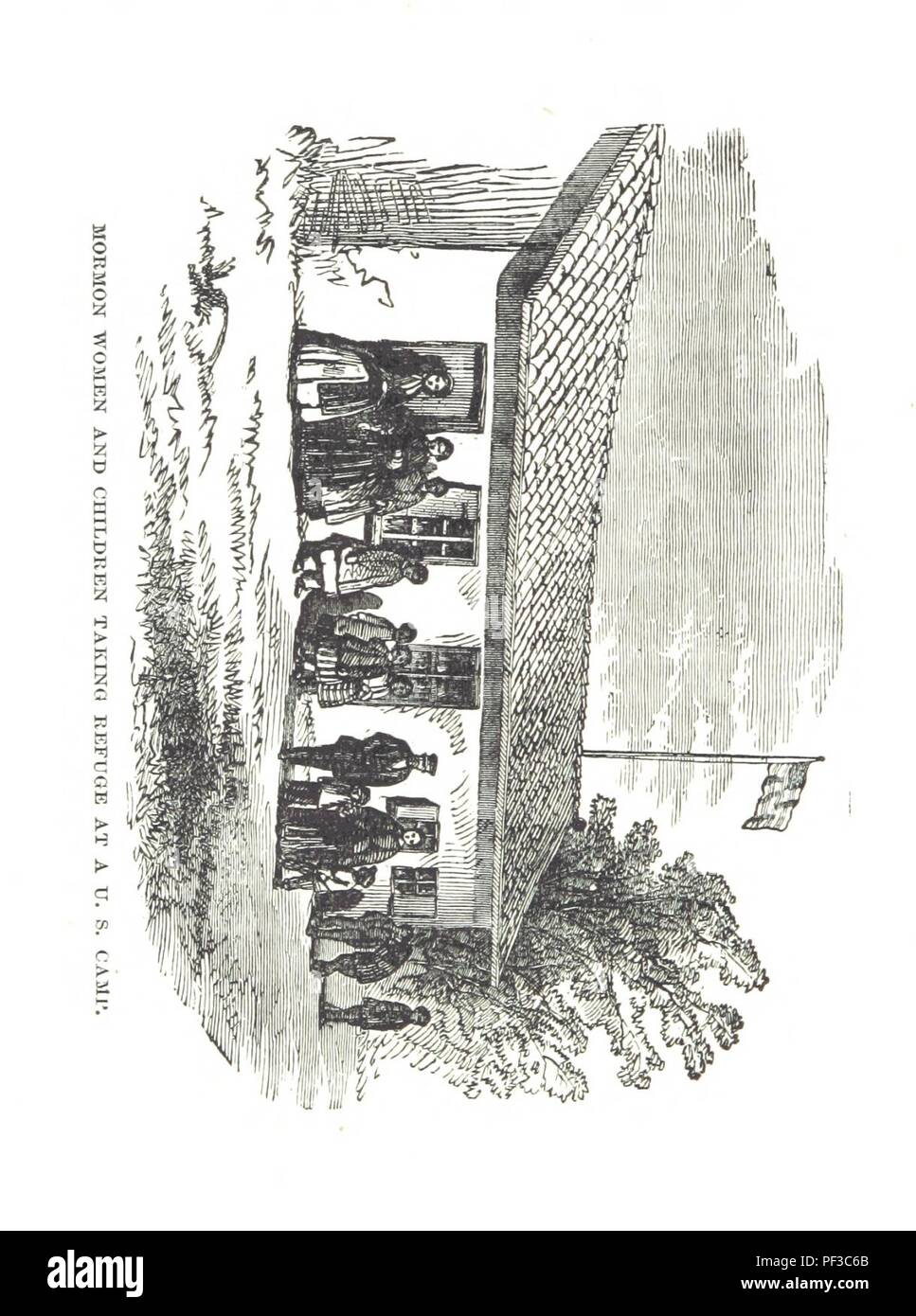 Image  from page 462 of 'Life in Utah; or, the Mysteries and crimes of Mormonism. Being an exposé of the secret rites and ceremonies of the latter-day Saints, etc' . - Stock Image