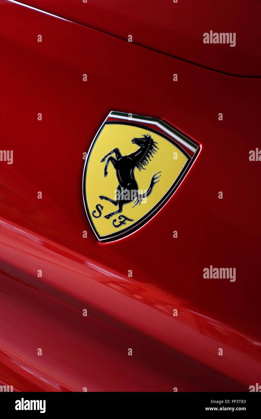 Prancing Horse Logo Stock Photos Prancing Horse Logo Stock Images